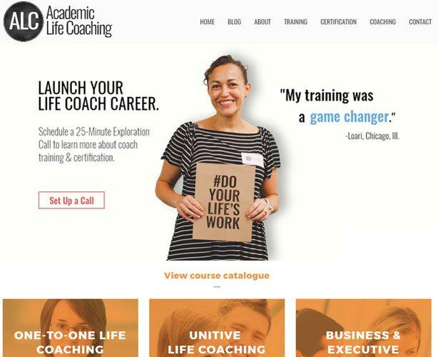 UI / UX Design & Wordpress Development  for USA Education Coaching Centre