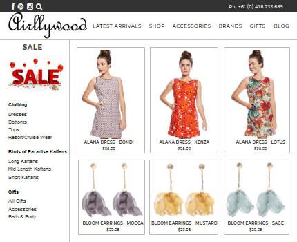 ASP NET CMS eCommerce website development Sydney Retail Store