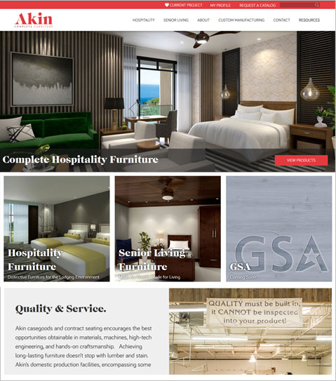 Development Of A PHP Website For USA Online Furniture Store