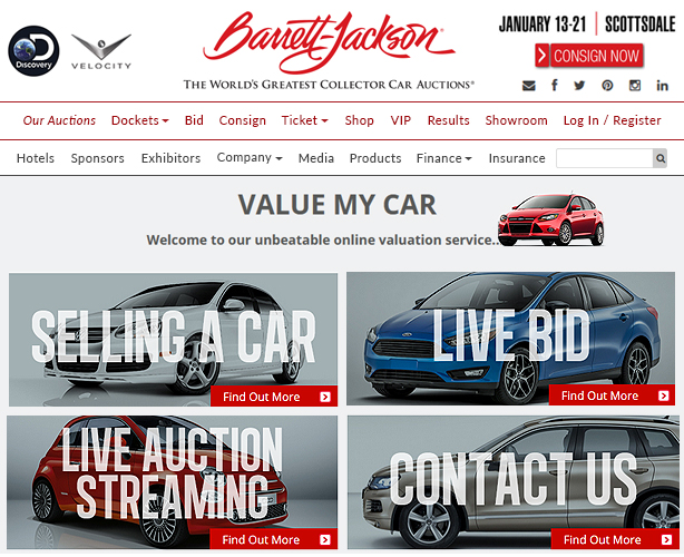 Web development with ASP NET MVC for Las Vegas car company