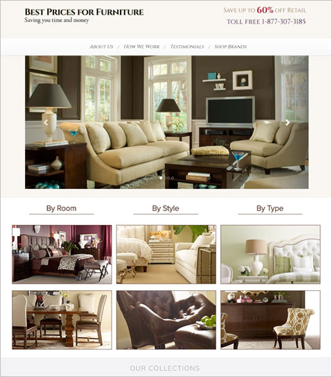 Exceptionnel Development Of PHP Powered Furniture Selling North Carolina E Commerce  Website
