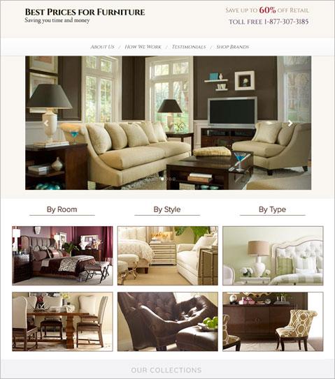 Development of PHP Powered Furniture Selling North Carolina E-commerce Website