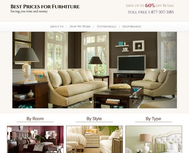 Development of PHP Powered Furniture Selling North Carolina E-commerce Website