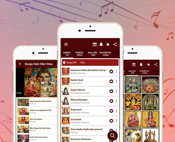 Android, iPhone & Xamarin Cross-platform Development of India Music App