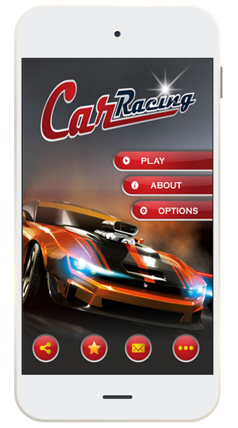 Android and iOS Based Arcade Car Racing Game