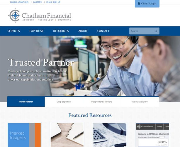 WordPress CMS Powered Website for USA Financial Advisory Company