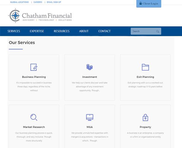 CMS Powered Website for USA