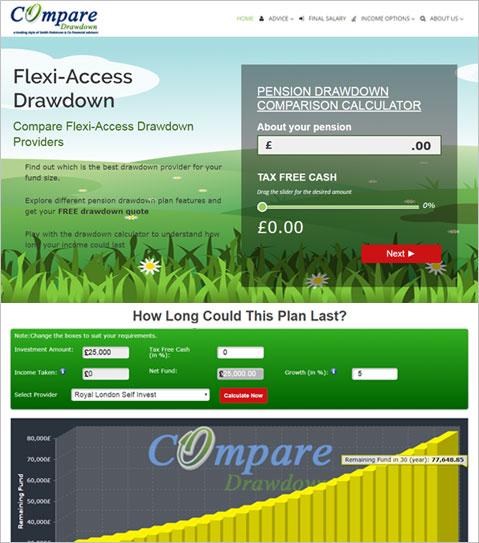 Wordpress Based Web Development of a Financial Advisory Company of UK