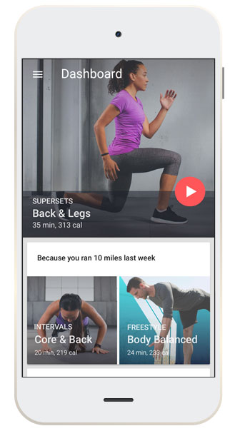 Yoga & Fitness App Developed on iOS & Android for San Francisco Company
