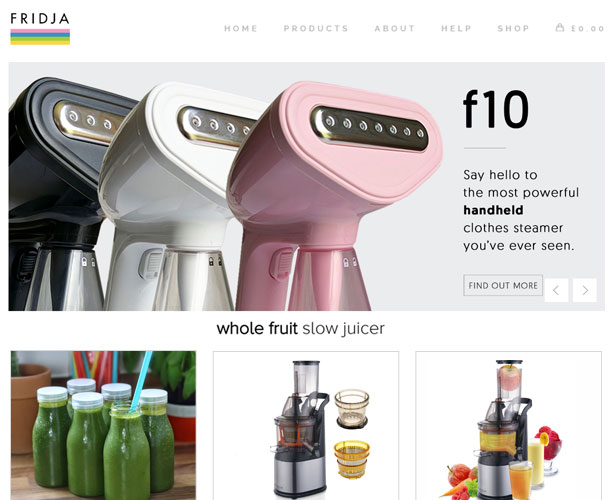 Development of WooCommerce and PHP based Online Home Tech Store in London