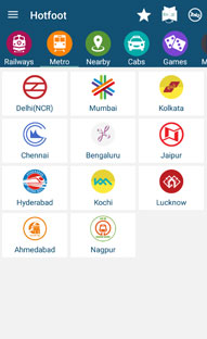 Travel / Train app for India