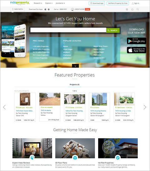Android & iOS App and PHP based Real Estate Website for India Agent