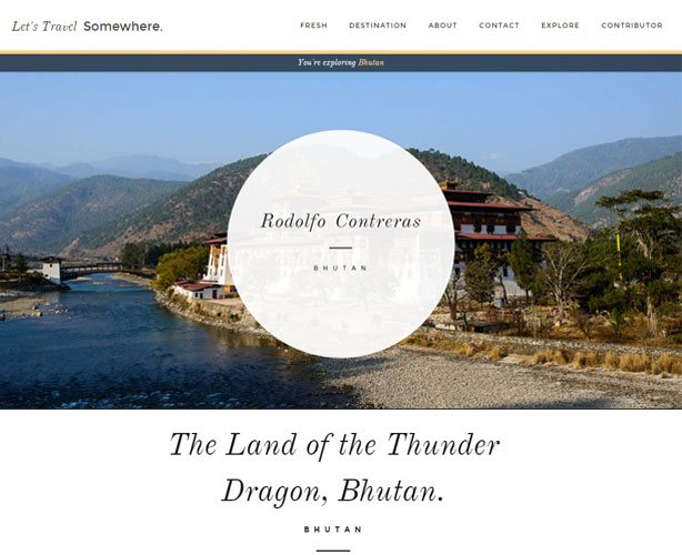 WordPress based Customized Travel Website with perfect UI / UX Design