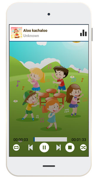 Android, iPhone & Xamarin App Development of Nursery Rhymes - an Educational Tool
