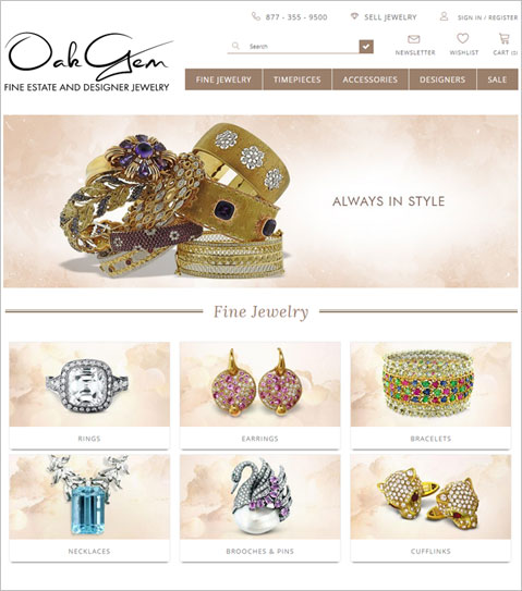 Development of a Shopify Based Online Jewelry Store in USA