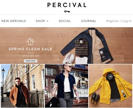 Shopify Web Design And Development For London Menswear Fashion Brand