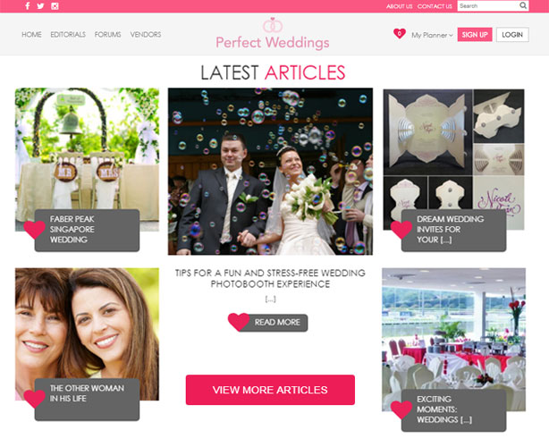 Development using PHP & MySQL for a Wedding Planner