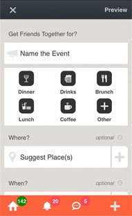 Android based Social Outing Scheduling App