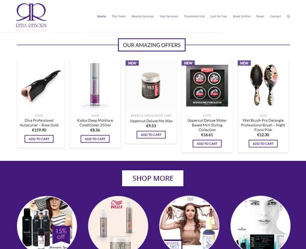 WordPress Theme for Spa & Beauty Salon in Ireland