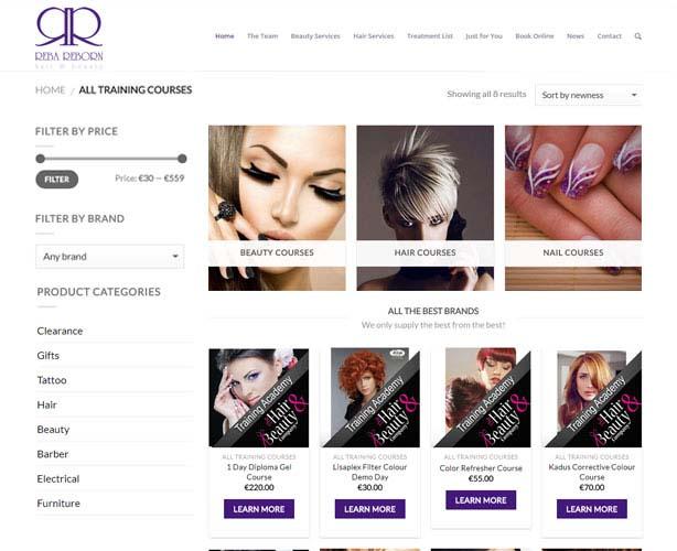 WooCommerce WordPress Theme for Spa & Beauty Salon in Ireland