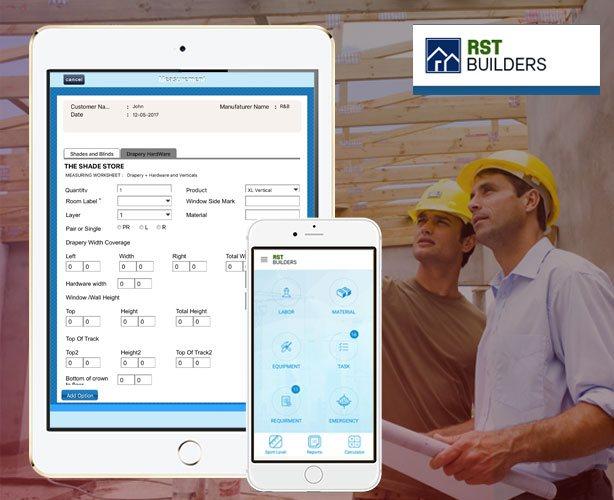 iPad / iPhone App Development for a California Construction Company