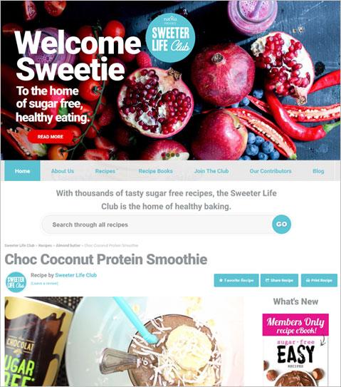 WordPress PHP Powered Website for Australia Company's Recipe Ebook