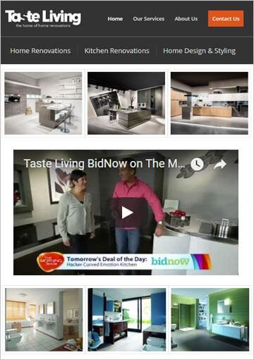 Php Wordpress Website Development For Home Renovation