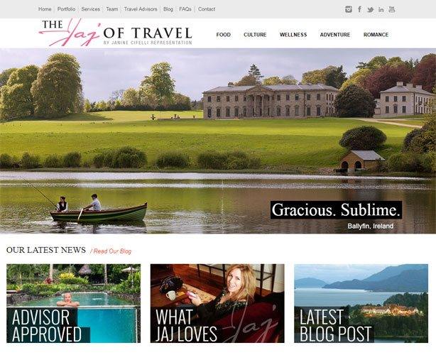 Development of a PHP and WordPress Website for USA based World-class Travel Agency