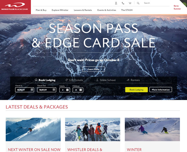 ASP.NET MVC with UI /UX Web Design for Canada Travel Agency
