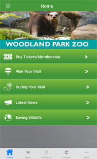 Development of iPhone Mobile App for an Animal Zoo in Seattle Washington