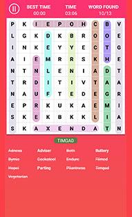 Multiple languages puzzle game