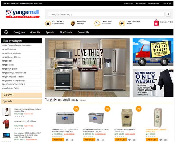 OpenCart Based E-commerce